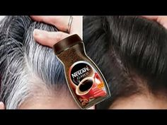 Hello Every Body My Video Show About: Traditional Beauty Secrets White Hair To Black Permanently in 30 Minutes Naturally Grey Hair Home Remedies, Remedy For White Hair, White Hair Treatment, Covering Gray Hair, Black Hair Tips, Black Hair Dye, Coffee Hair Dye, Coffee For Hair, Hair Growth Oil