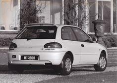 Mitsubishi Colt GLXI (Netherlands,1993)