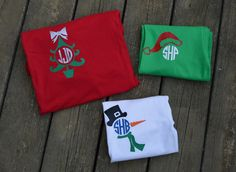 Womens Christmas Shirts  Get ready for Winter and Christmas with these personalized T-Shirts.   Design will be on the left chest. Designs are 4-5 inches depending on design.  PLEASE ENTER AT CHECKOUT: 1. DESIGN- 2. MONOGRAM- 3. MONOGRAM COLOR-  Check out our matching kids shirts https://www.etsy.com/your/shops/SoutherlyMade/tools/listings/256675332  *If youd like to change any design colors, please enter there as well. Example: The girl deer youd like ...