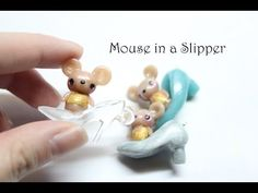 ▶ Cinderella Collaboration: Mouse in a Slipper Clay Tutorial ft. FlyingMio - YouTube