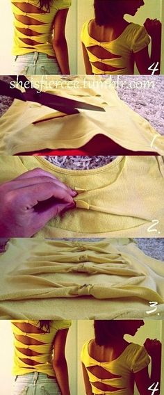 Reinvent Your Old Shirt – DIY