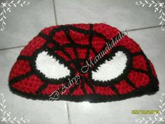 Gorro tejido de Spiderman