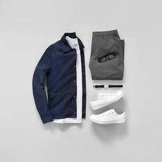 outfit grid Our favourite fits from Insta Mens Casual Dress Outfits, Best Smart Casual Outfits, Style Outfits, Stylish Mens Outfits, Outfit Jeans, Fashion Outfits, Men's Jeans, Fashion Styles, Smart Casual Men