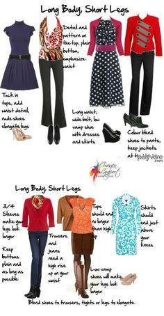 Dress long body short legs