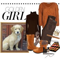 """""""Golden Girl"""" by mchankins on Polyvore"""