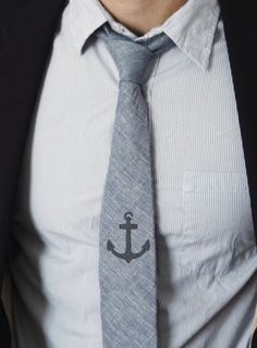 You can also stencil a tie you already have | 23 DIY Upgrades Any Man Can Make To Look Better