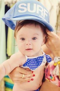 Modern Moni: San Lorenzo Bikini Shopping Part 1 // Baby polka dot bikini from #SanLorenzoBikinis #Keiki #babystyle