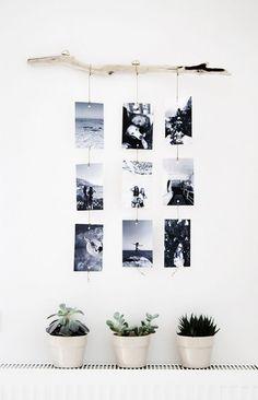 die 73 besten bilder von kreativ mit fotos wanddekoration wandkunst und w nde schm cken. Black Bedroom Furniture Sets. Home Design Ideas