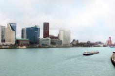 view of Erasmus bridge. I took it some shining day.