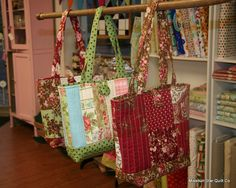 This pattern is so easy and makes an awesome bag.  We are doing this with our 4-H quilting class (kids from age 6 and up)  Wonderful pattern!!!  We also modified it for a larger size too.  Happy quilting!! :-)
