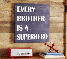 Every Brother is a Superhero #pbkids