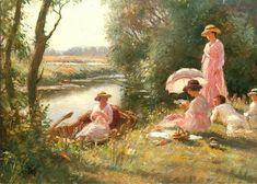 William Kay Blacklock (1872-1922) British Painter ~ Blog of an Art Admirer love this