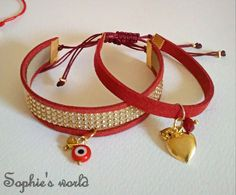 Sophie's World, Facebook, Bracelets, Handmade, Jewelry, Fashion, Moda, Hand Made, Jewlery