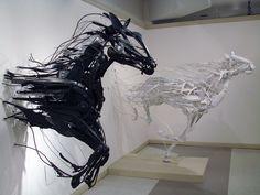 Sayaka Ganz's anials installations - Emergence, Sayaka Ganz, 2013.
