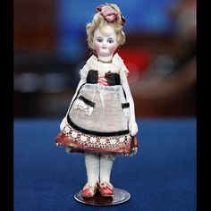 French Mignonette Bisque Doll, ca. 1880