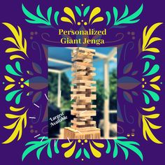 @thelovezone #giantjenga #jengadrinkinggame Jenga Drinking Game, Movie Drinking Games, Giant Jenga, Pine Design, Great Graduation Gifts, Pudding Shots, Adult Party Games, Alcohol Drink Recipes, Personalized Gifts