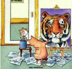 A positive self image is everything!
