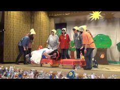 Hófehérke és a hét törpe a Pöttöm óvónénik előadásában - YouTube
