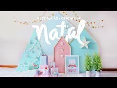 Decoração de Natal DIY+ Oficina criativa em dezembro - YouTube