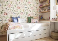 Small Room Bedroom, Bedroom Wall, Girls Bedroom, Bedroom Furniture, Bedroom Decor, Small Room Design, Home Room Design, Home Office Design, Guest Room Decor