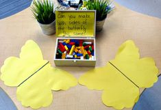 Symmetry provocation using Lego-- I would probably use glass florist beads and twigs, though Kindergarten Inquiry, Preschool Math, Math Activities, Reggio Emilia, Reggio Inspired Classrooms, Reggio Classroom, Play Based Learning, Learning Through Play, Maths 3e