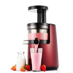 (211.20$)  Watch here - http://aidey.worlditems.win/all/product.php?id=32805591733 - 2 Colors Household Multi-function Juicer 150W Slow Speed Juice Extractor Fruits Vegetables Tofu Juice Machine