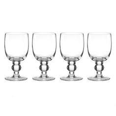 Shop for Lenox Tuscany Classics Clear Crystal Casual Goblets (Pack of 4). Free…