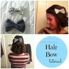 Little Miss Kimberly Ann: Easy DIY Hair Bows