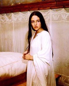 Olivia Hussey looking so beautiful as Juliet