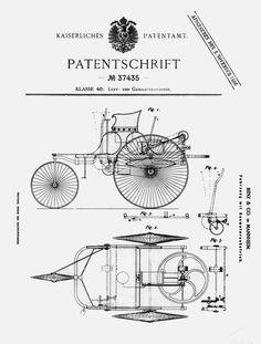 Jubiläum: Patentanmeldung von Carl Benz am 29. Januar 1886 – Geburt des Automobils vor 130 Jahren