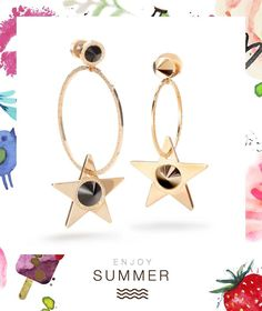Summer shine bright with our brand new Star collection! Discover it in the nearest Rebecca store.  #newcollection#madeinitaly#summer#madeinitaly