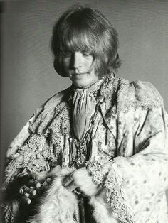 Brian Jones....Photo taken by Michael Cooper. via: the-golden-stone