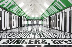 Visual artist Barbara Kruger's latest show at Modern Art Oxford features a bold typographic installation