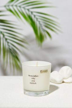 Remember why you started. We prioritize naturality and hand pour our candles using a natural soy wax blend. Our candles are made of 100% paraffin free vegetable wax. Soy wax has its own off-white color and due to the nature of essential oils, it may discolor over time. Our soy candles are highly scented using the finest ingredients from European fragrance houses.