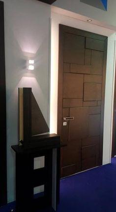 Discover thousands of images about Glass French Doors Flush Door Design, Single Door Design, Wooden Front Door Design, Wall Design, Modern Wood Doors, White Wooden Doors, Custom Wood Doors, Bedroom Door Design, Door Design Interior
