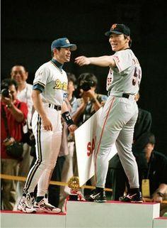 Ichiro and Hideki Matsui