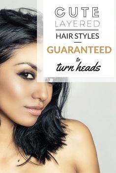 Cute Layered Hair Styles Guaranteed To Turn Heads>> http://declarebeauty.com/hair/layered-hair-styles/