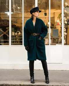 The Riga Coat sewing pattern from Orageuse Patterns, find out more and read reviews of this dressmaking pattern.
