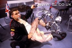 Dave Lister - the last human alive. Played by Craig Charles (Red Dwarf)