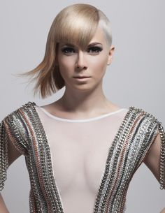 Young Talent Trend Vision Finalist 2013 Hair: Jamie Gonzales Make up: Chastity Cruz Photography: Mark Sacro  #Trendvision2013 #Allegra #hairbyjamiegonzales #BrentonLeeSalon #teamblee