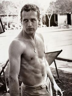 Paul Newman. I think I see what my Mom saw in him.
