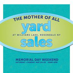 memorial day yard sale york pa