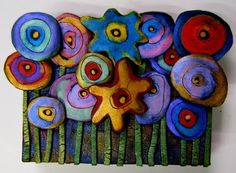 a Mused Studio: Polymer Clay Posies