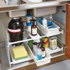 Under sink storage from Mop inventor Joy Mangano - The Washington Post