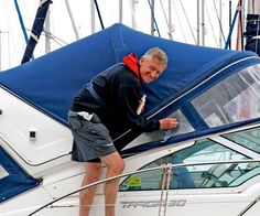 Read our boat canvas cleaning guide and give your boat a quick and cost-effective makeover
