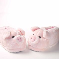 25€ Chaussons animaux cochon