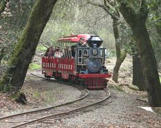 To ride the tiny train again at Howarth Park in Santa Rosa CA