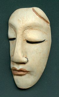 Polymer++Ancient+One+Face+Profile++Cab+TRF+2+by+linsart+on+Etsy,+$6.75