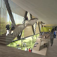 Chinese University of Hong Kong (Shenzhen Campus) Master Plan Winning Proposal,Courtesy of Rocco Design Architects
