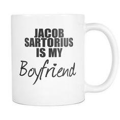 Jacob Sartorius Is My Boyfriend Mug
